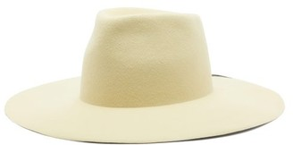 Reinhard Plank Hats - Abstract-painted Felt Hat - Yellow