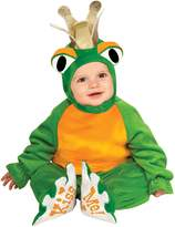 Rubie's Costume Co Baby Costume, Cuddly Jungle Frog Romper Prince Costume