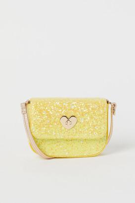 H&M Glittery Shoulder Bag