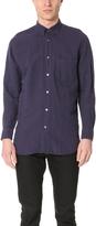 Our Legacy Cotton Linen Generation Shirt