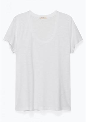 American Vintage Jacksonville T Shirt White Jac 48 - XS
