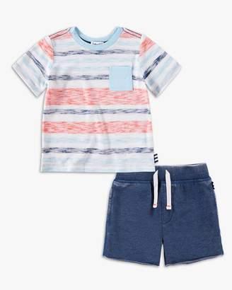 Splendid Baby Boy Striped Pocket Tee Set