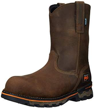 Timberland Men's AG Boss Pull-On Alloy Toe Waterproof Work and Hunt Boot