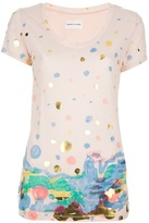 Tsumori Chisato blotchy print t-shirt