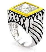 Alljoy Art'n Sparkle - Designer-Inspired Ring w/White CZ Size 5