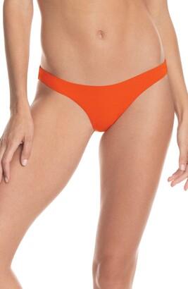 Maaji Ginger Orange Flirt Reversible Bikini Bottoms