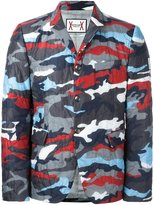 Moncler Gamme Bleu runway padded camouflage blazer - men - Polyamide/Cupro - 1