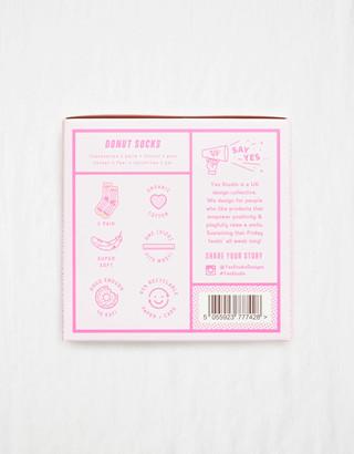 aerie Yes Studio! Donut Bobby Socks
