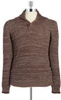 G Star Shawl Collar Knit Sweater