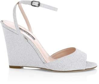 Sarah Jessica Parker Boca Wedge Sandals