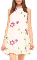Tcec Embroidered Swing Dress