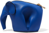 Loewe Elephant Leather Coin Purse - Royal blue