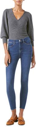 Frame 24 Hour Le High Skinny Jeans