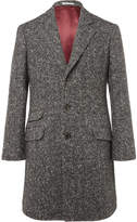 Brunello Cucinelli - Herringbone Virgin Wool and Cashmere-Blend Coat