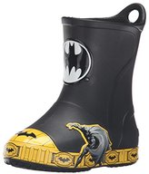 Crocs Bump It Batman Rain Boot (Toddler/Little Kid)