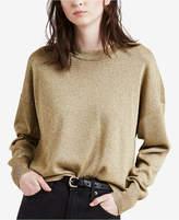 Levi's Metallic Drop-Shoulder Sweater