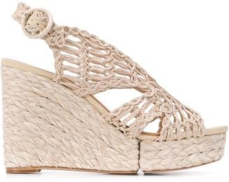 Paloma Barceló Munal woven platform sandals