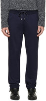 Christopher Kane Navy French Terry Lounge Pants