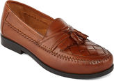 STAFFORD Stafford Burke Mens Leather Tassel Loafers