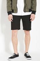 Forever 21 FOREVER 21+ Cuffed-Hem Pocket Shorts