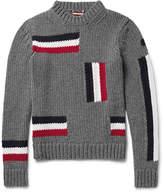 Moncler - Intarsia Virgin Wool Sweater