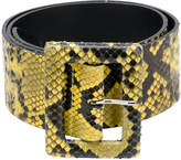 Orciani square buckle belt