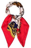 Hermes Real Escuela Andaluza Del Arte Equestre Silk Scarf
