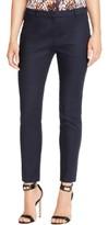 HUGO BOSS Womens Arima Crepe Slim Leg Dress Pants