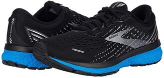 Brooks Ghost 13 (White/Grey/Deep Cobalt) Men's Running Shoes