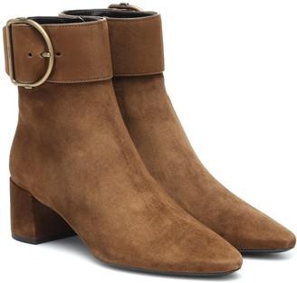 Saint Laurent Charlie 50 suede ankle boots