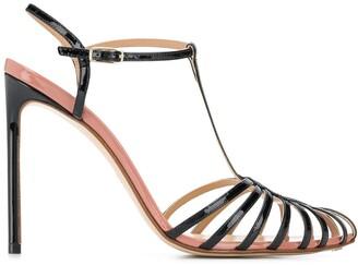 Francesco Russo Strappy Stiletto Heels