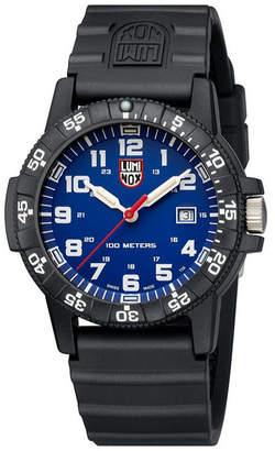 Luminox Men 0321 Sea Turtle Black Rubber Bracelet Watch
