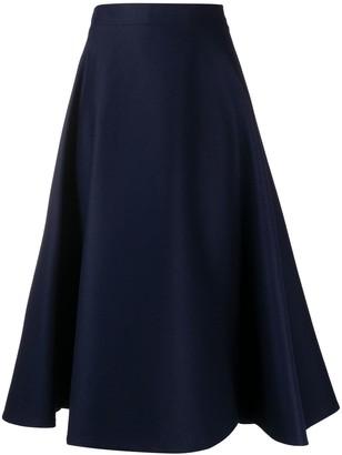 Marni high-waisted A-line skirt