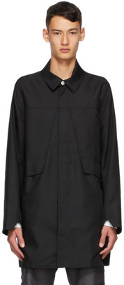 AFFIX Black Tech Coat