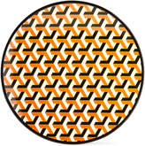 Jonathan Adler Orange Mykonos Melamine Dinner Plate