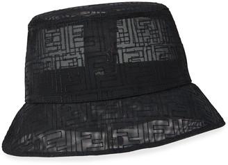 Fendi Men's FF Mesh Bucket Hat