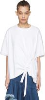 Marques Almeida White Side Cord T-shirt