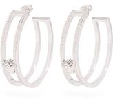 Versace Medusa hoop earrings