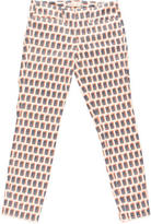 Tory Burch Printed Cropped Skinny Jeans