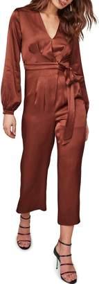 ASTR the Label Malin Tie Waist Jumpsuit