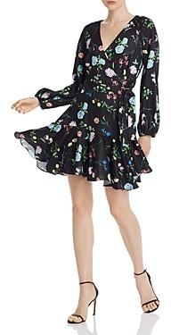 Paper London Ottie Floral Wrap Dress