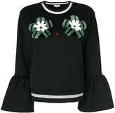 Fendi embellished top