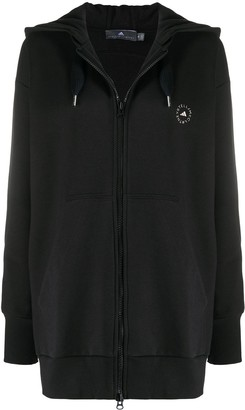 adidas by Stella McCartney Oversized Zip-Front Hoodie