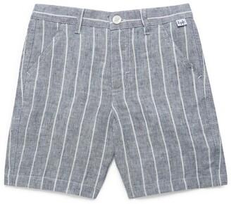 Il Gufo Striped Bermuda Shorts (3-12 Years)