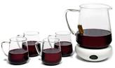 Luigi Bormioli Mulled Wine Pitcher & Glass 5-Piece Set