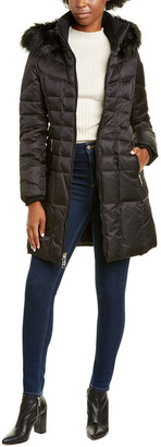 Nine West Medium Quilted Coat