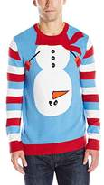 Ugly Christmas Sweater Men's Inverted Snowman