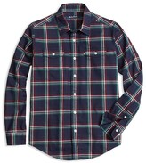 Brooks Brothers Boys' Holiday Plaid Flannel - Sizes 4-16