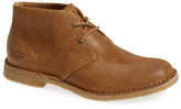 UGG Leighton Genuine Shearling Lined Chukka Boot - Wide Width Available