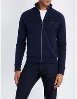 Ralph Lauren Purple Label Logo-Detail Cotton-Jersey Track Jacket
